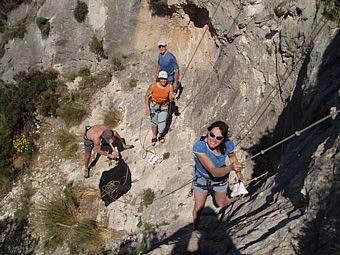 Start lead climbing with an instructor