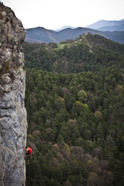 Rock Climbing near Barcelona
