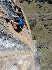 Rock Climbing in the Picos
