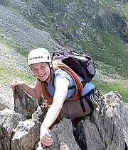 Scrambling Courses in Snowdonia