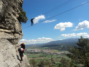 Via Ferrata in Northern Spain