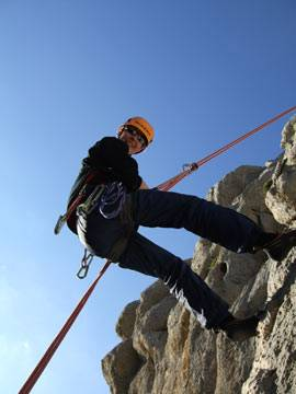 Abseiling in Andalucia