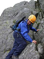 Scrambling Course in Snowdonia on Tryfan