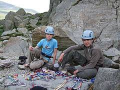 Rock Climbing Courses in North Wales - Learning to Lead Climb