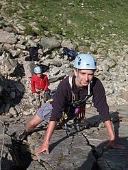 Learn to Lead Climb Course in North Wales