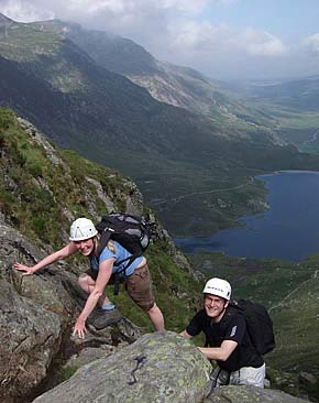 The Best Scrambling In Snowdonia North Wales